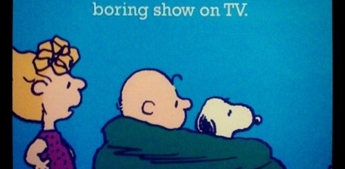 Love Boring TV Shows