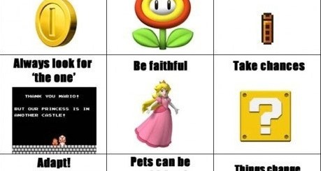 Mario Life Lessons