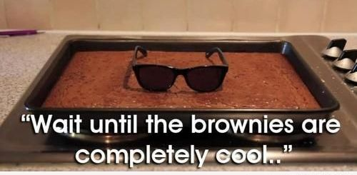 Baking Brownies
