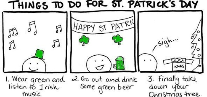 St Patricks Day Plans