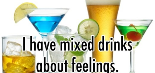 Mixed Drinks Feelings