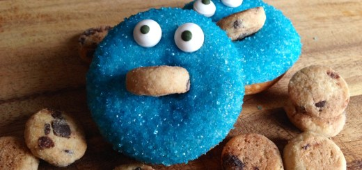 Cookie Monster Donut
