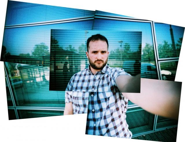 self portrait of lomokev aka Kevin Meredith