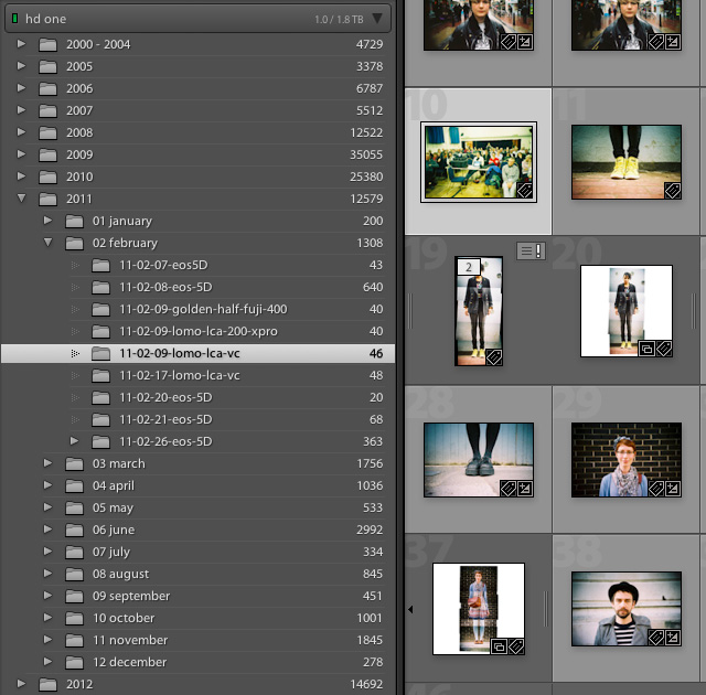 lightroom filing system