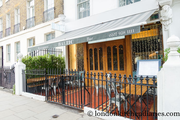 Baltic restaurant London review