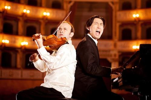 Igudesman and Joo in Vienna. Photo � Julia Wesely