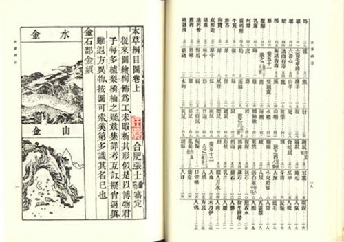 Bencao Gangmu (본초강목, 本草綱目)