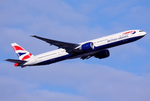 BA Boeing 777 (Photo by Andrew Simpson)