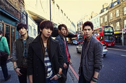CNBlue London album cover