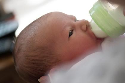 bottle fed babies