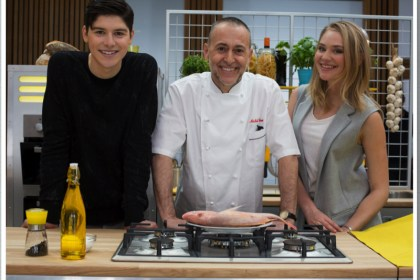Five Minute Chat with Star Chef Michel Roux Junior