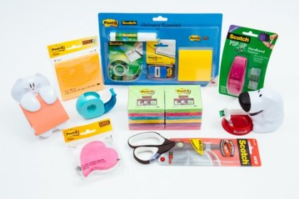 3M Magic Tape & Post-it products