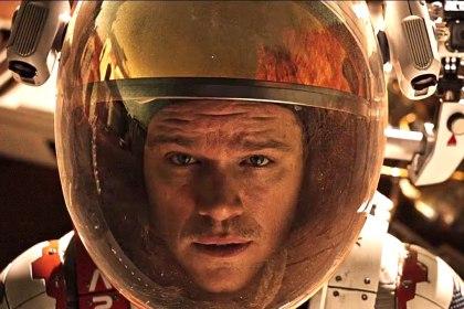 Matt Damon is lost in space in The Martian.