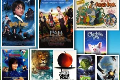 best Children's Book Adaptations collage