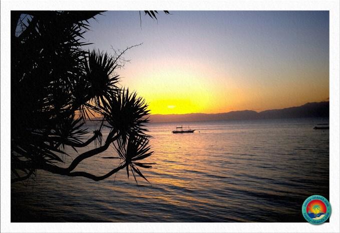 Sonnenuntergang bei Moalboal