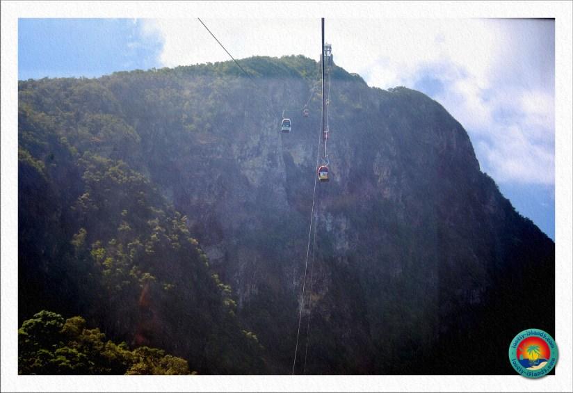 Cable Cars zu den Aussichtsplattformen