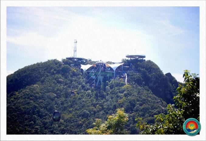 Aussichtsplattformen in ca. 700m Höhe