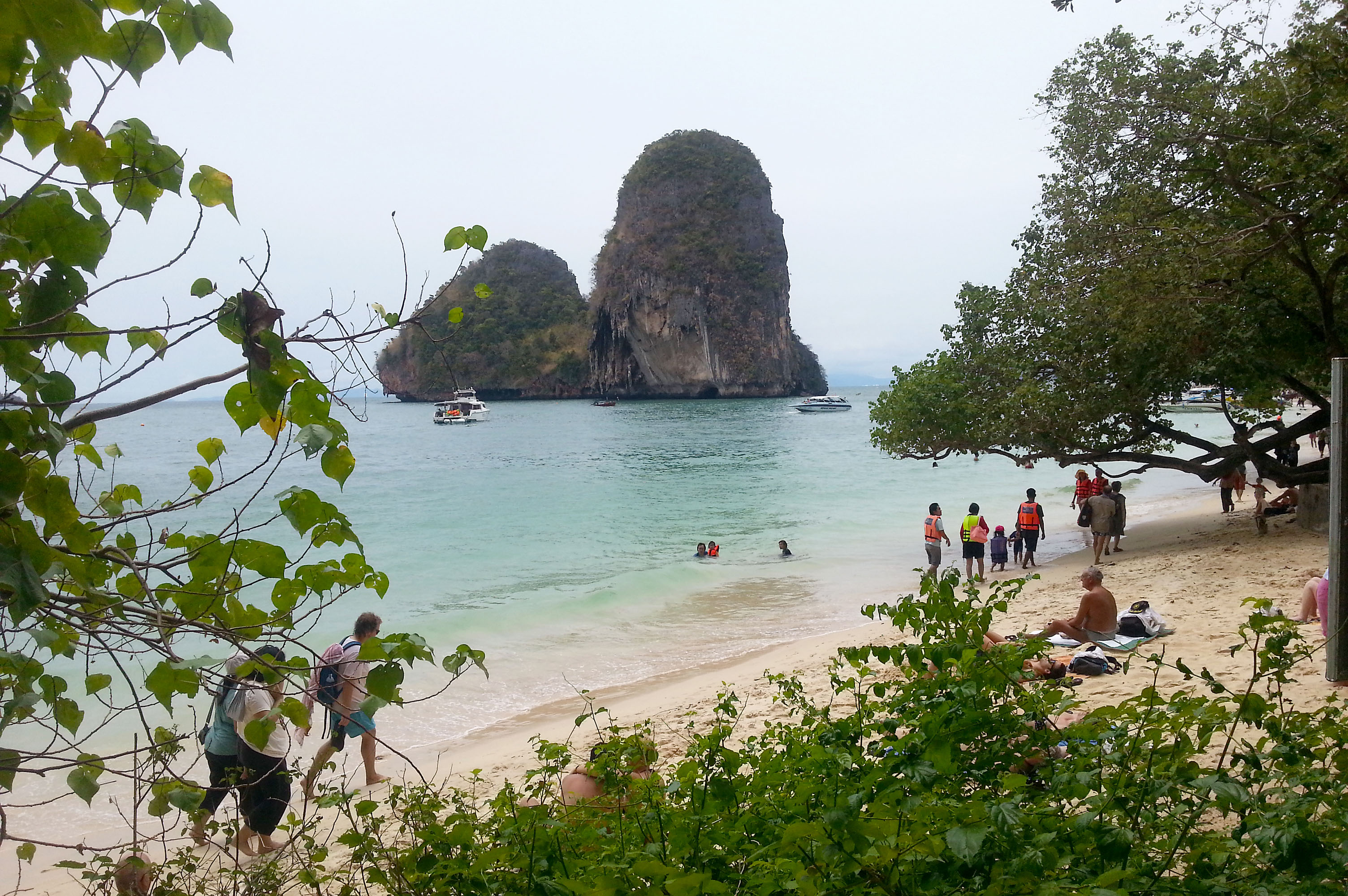 Phra Nang Beach bei Railay Beach