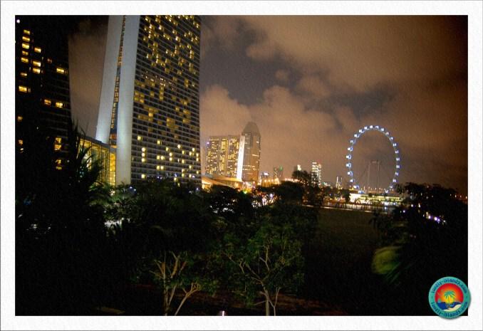 vor dem Marina Bay Sands