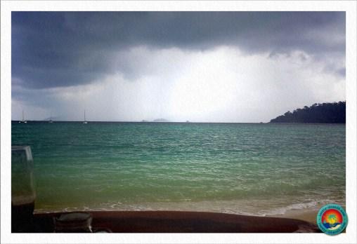Ein kleiner Tropensturm kommt auf