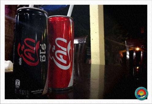 Thailändische Coca Cola