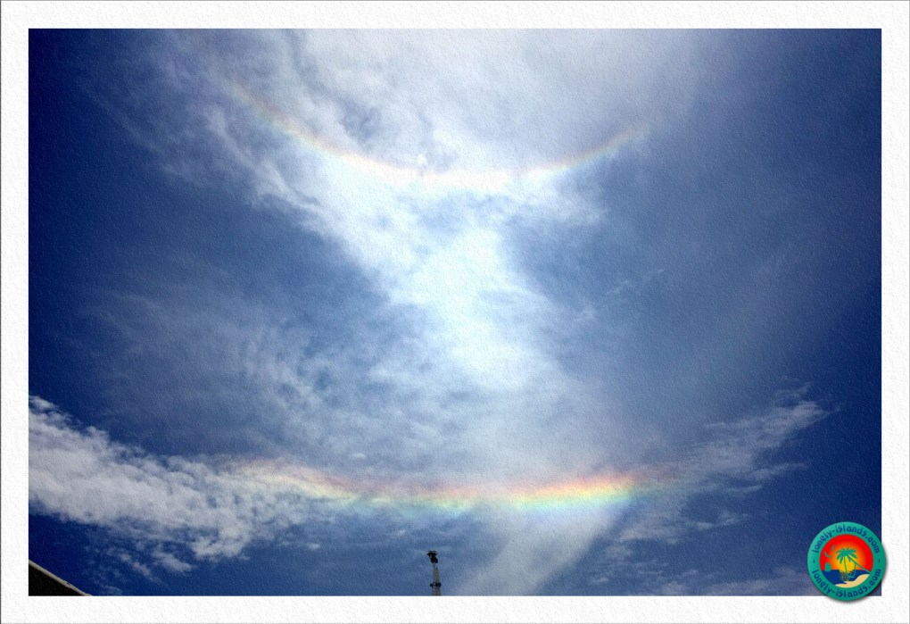 Doppelter Regenbogen bei Apo