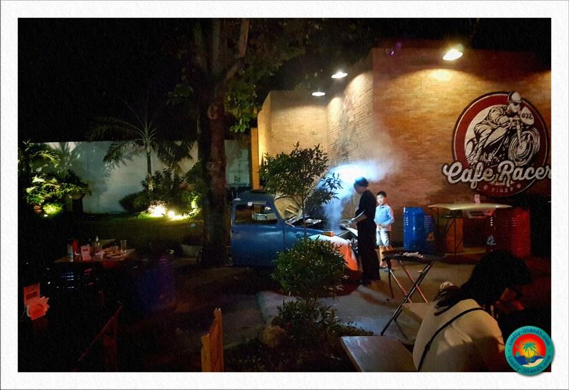 Grill im Restaurant in Dumaguete