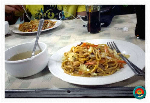 leckeres Essen in Banaue