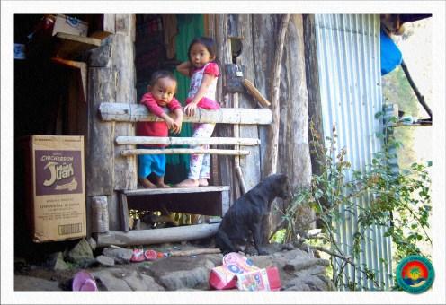 kleine Kinder in Batad