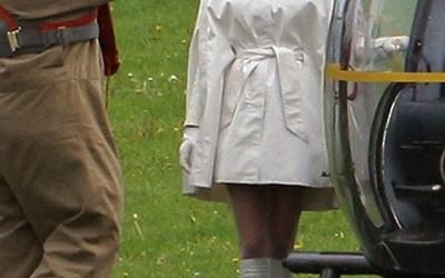 Set Pics: January Jones as Emma Frost