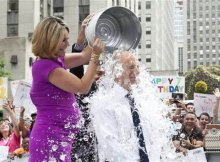 Ice bucket challenge takes over the internet