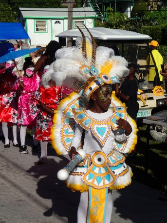 Junkanoo at Green Turtle Cay – always a great way to celebrate the New Year!