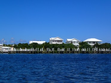 Leeward Yacht Club from Black Sound