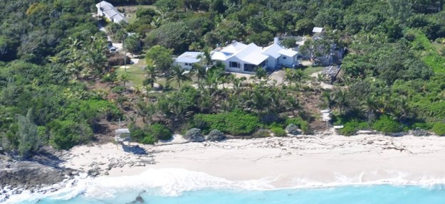 Another aerial shot of Long Bay House, Bahamas.