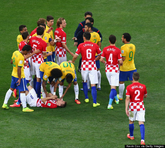 Brazil beat Croatia in an unconvincing way in WC Opener