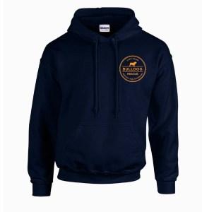 Navy sweatshirt front