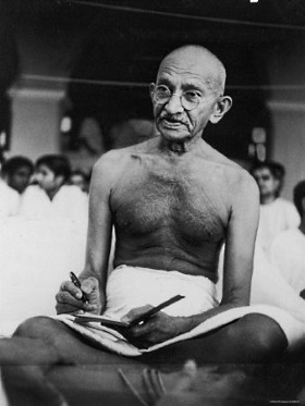 Homeless Gandhi