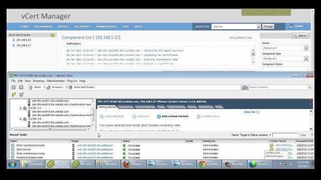 Automating vSphere SSL Cert Management – vCert Manager Beta Demo