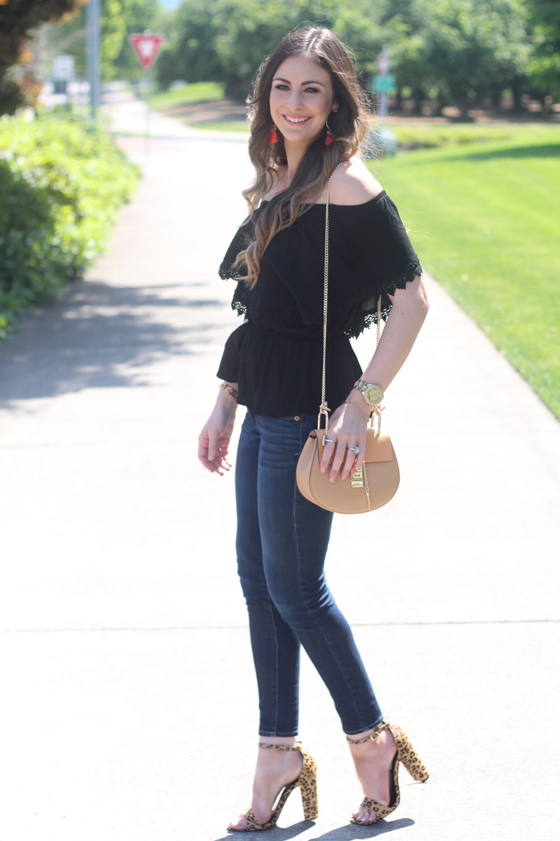 Off Shoulder Top by Sweetest Stitch