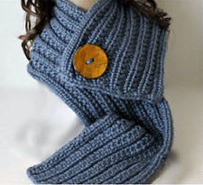 Loom Knit A Scarf Using The Farrow Rib Stitch