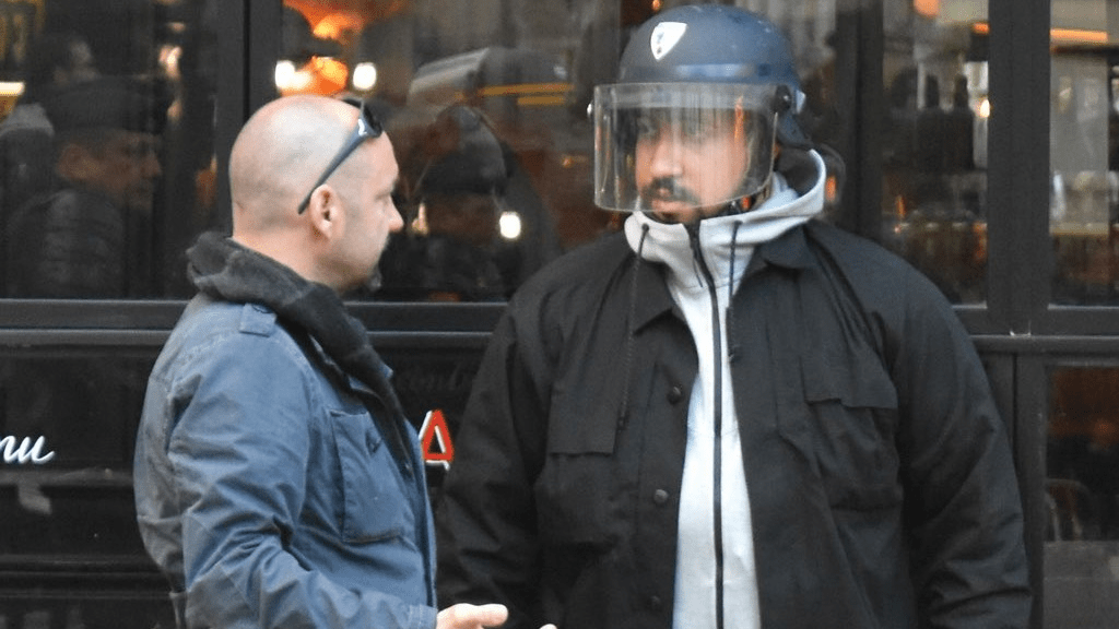 Video emerges of Macron bodyguard beating protester in Paris   Loop News Photo  Alexandre Benalla  security aide for French president Emmanuel  Macron  was seen beating