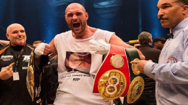 Image result for tyson fury vacates world heavyweight titles focus on recovery
