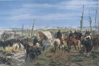 Fattori il campo italiano alla battaglia di Magenta