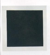 Malevic, Quadrato nero su fondo bianco