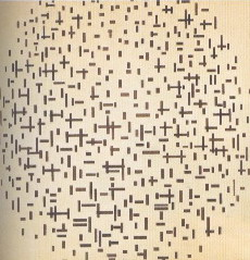 Mondrian, Composizione con linee