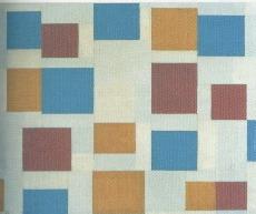 Mondrian, Composizione con piani di colore