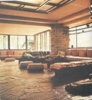 Wright interno casa Kaufmann