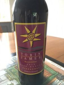 "Tobin James 2010 Zinfandel ""Ballistic"", Paso Robles"