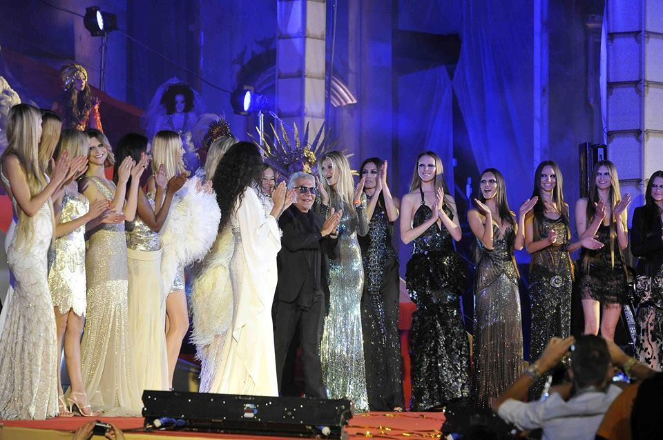 """Roberto Cavalli was the star of the """"Life Ball"""" 2013 in Vienna"""