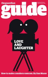 romantic comedy cover- the guardian